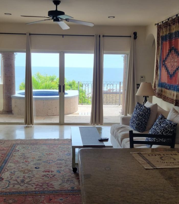 Ocean View Suites Living Room